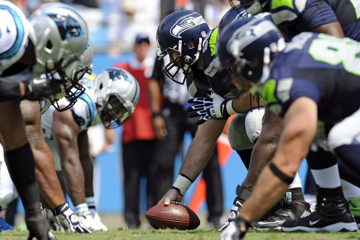 Super Bowl 2014: Seahawks Offensive Line Vs. Broncos inside Seahawks Super Bowl 2014