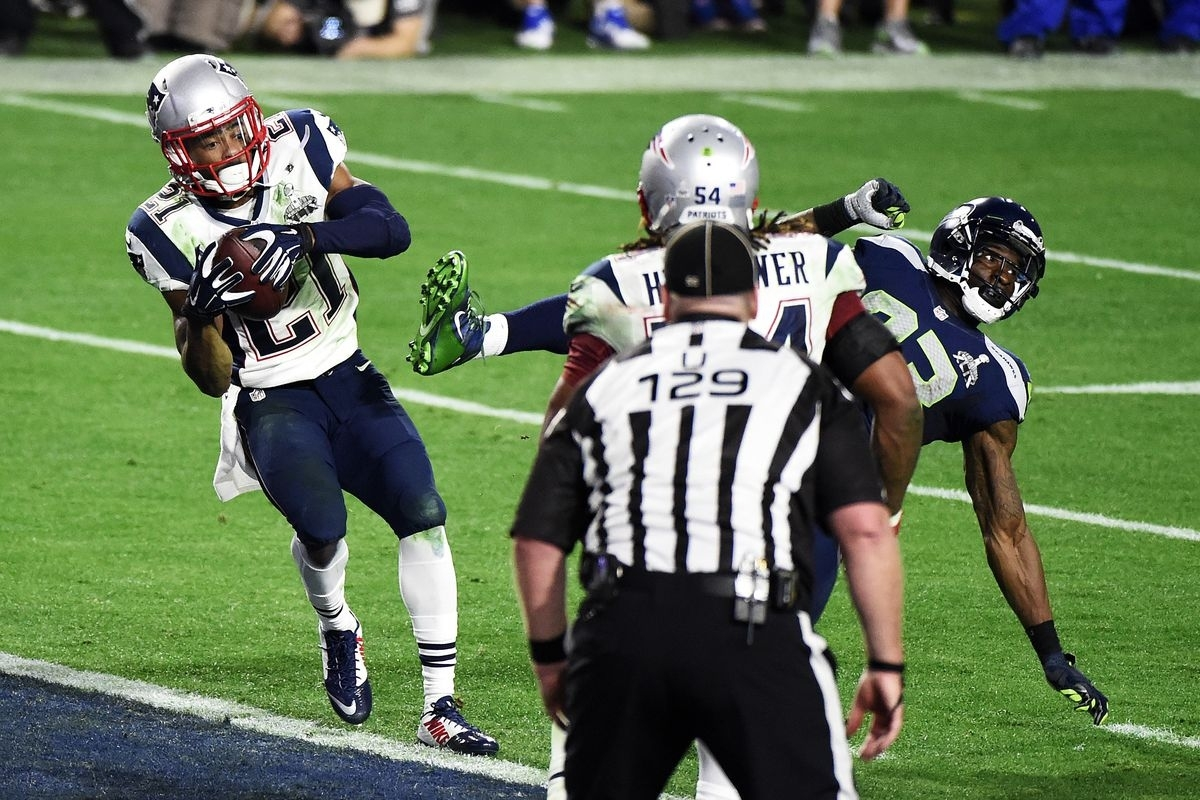 Super Bowl 2015: Patriots Pick Off Seahawks For The Win pertaining to Seahawks Super Bowl 2015
