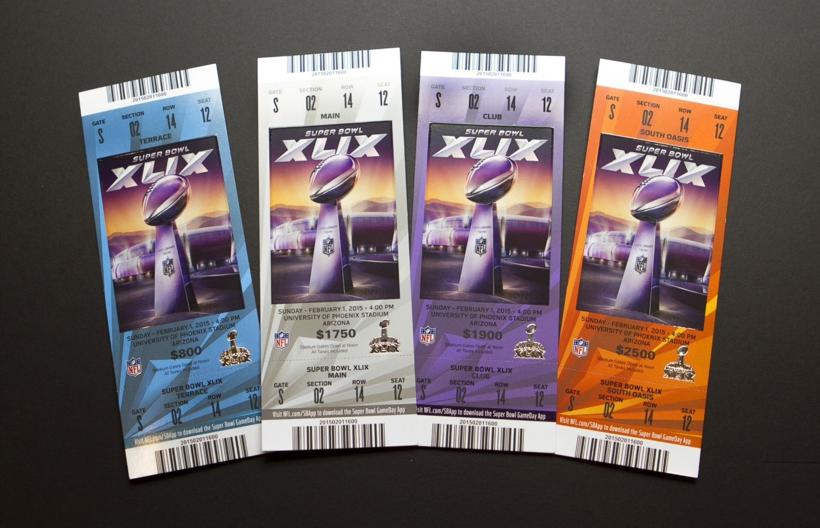 Super Bowl 2018: An Evolution Of Tickets In Photos Photos in Nfl Super Bowl Tickets