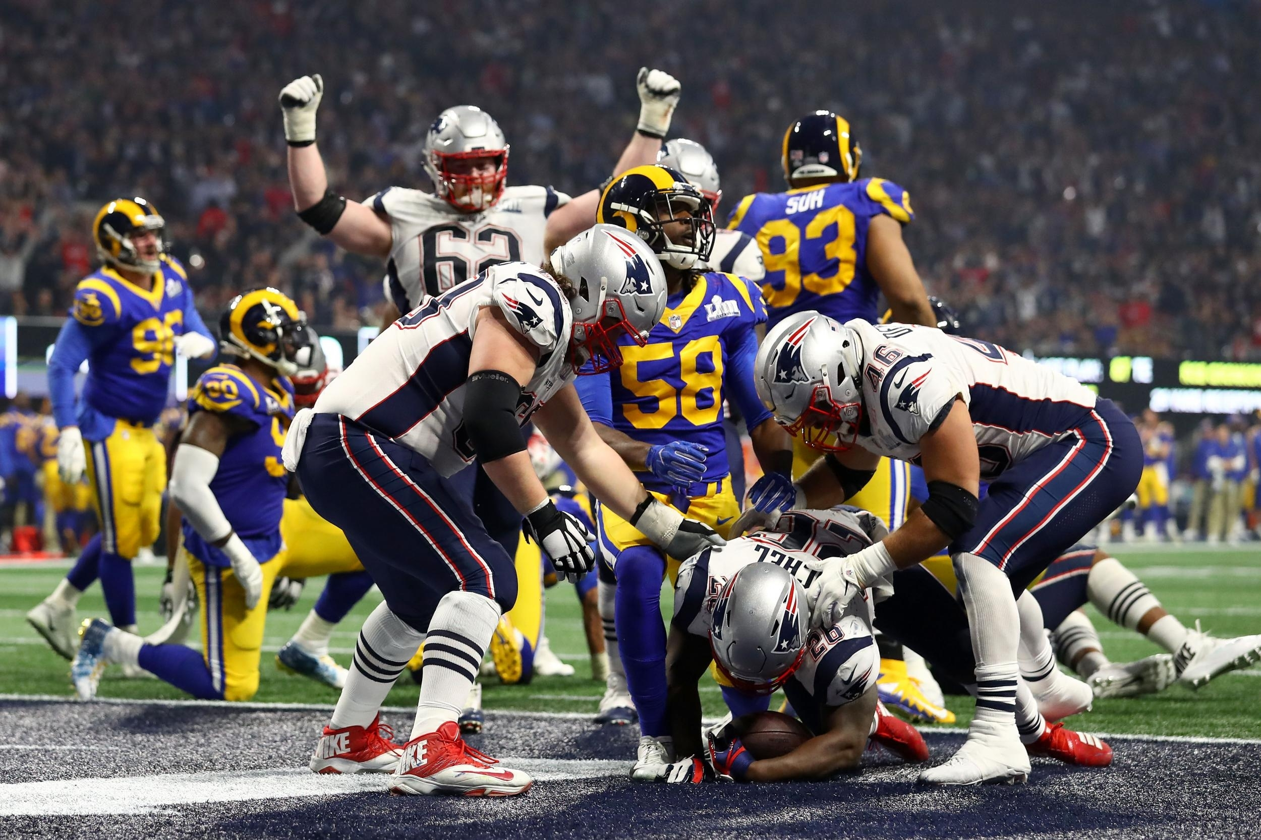 Super Bowl 2019 Attendance: La Rams Vs New England Patriots for Super Bowl Attendance 2019