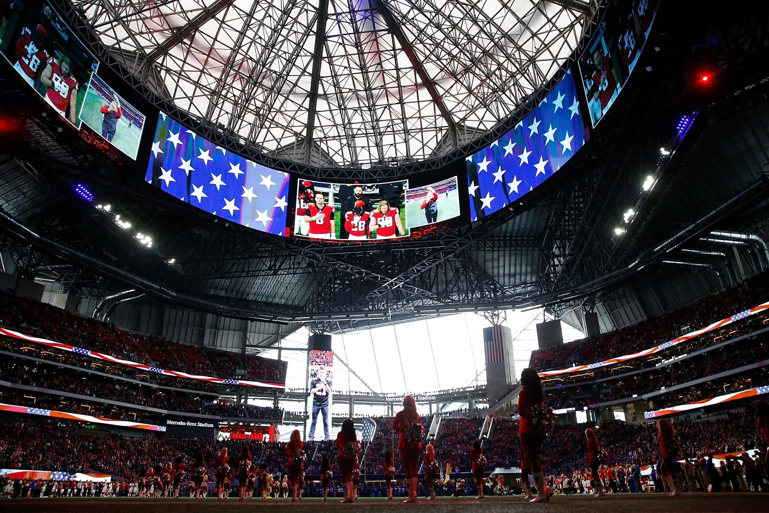 Super Bowl 2019 Attendance: La Rams Vs New England Patriots regarding Super Bowl Seating Capacity 2019