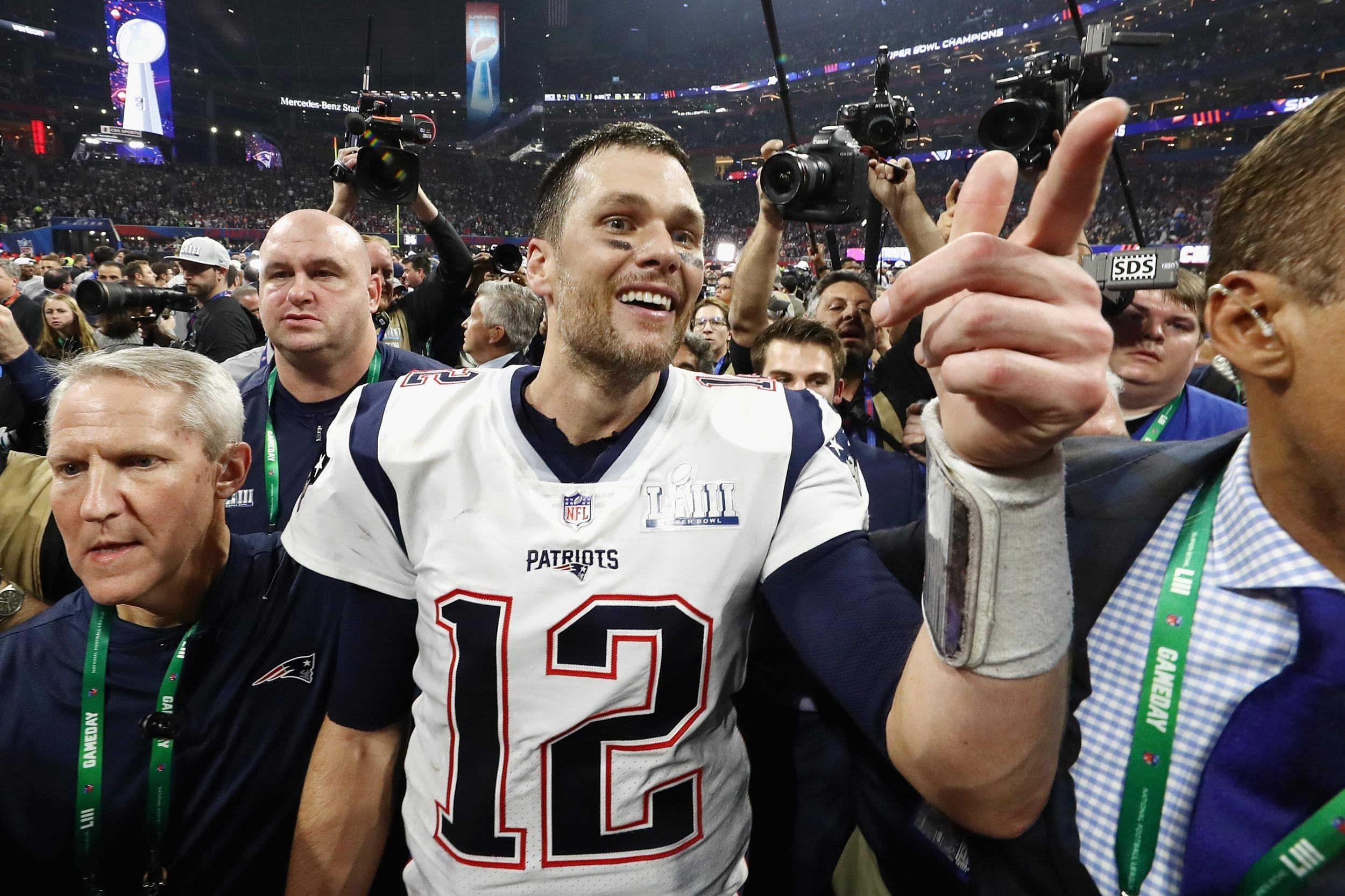Super Bowl 2019 Attendance: La Rams Vs New England Patriots throughout Super Bowl Attendance 2019