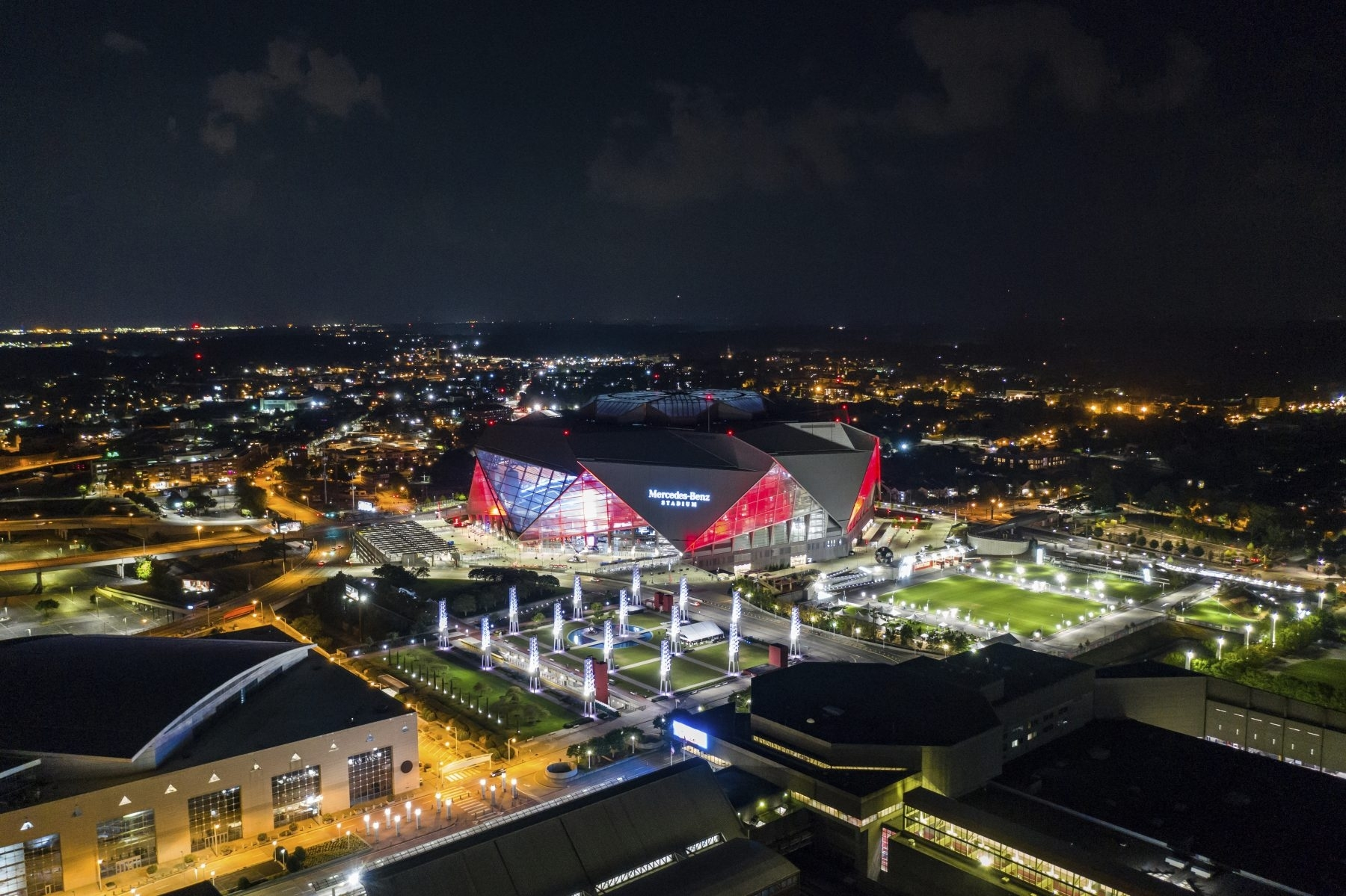 Super Bowl 2019: Concerts, Brewery Crawls And More | 90.1 Fm with Super Bowl Live Atlanta Map