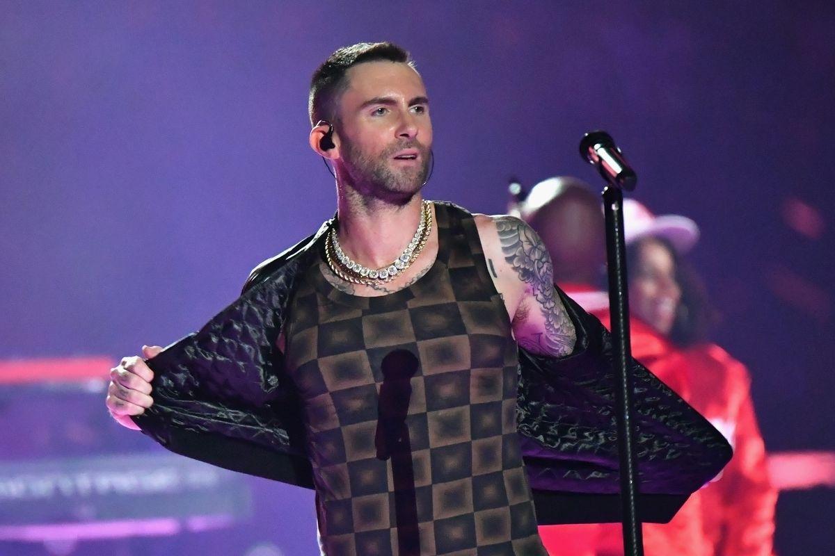 Super Bowl 2019 Halftime Show: Why Adam Levine's Shirt Looks regarding Adam Levine Super Bowl 2019