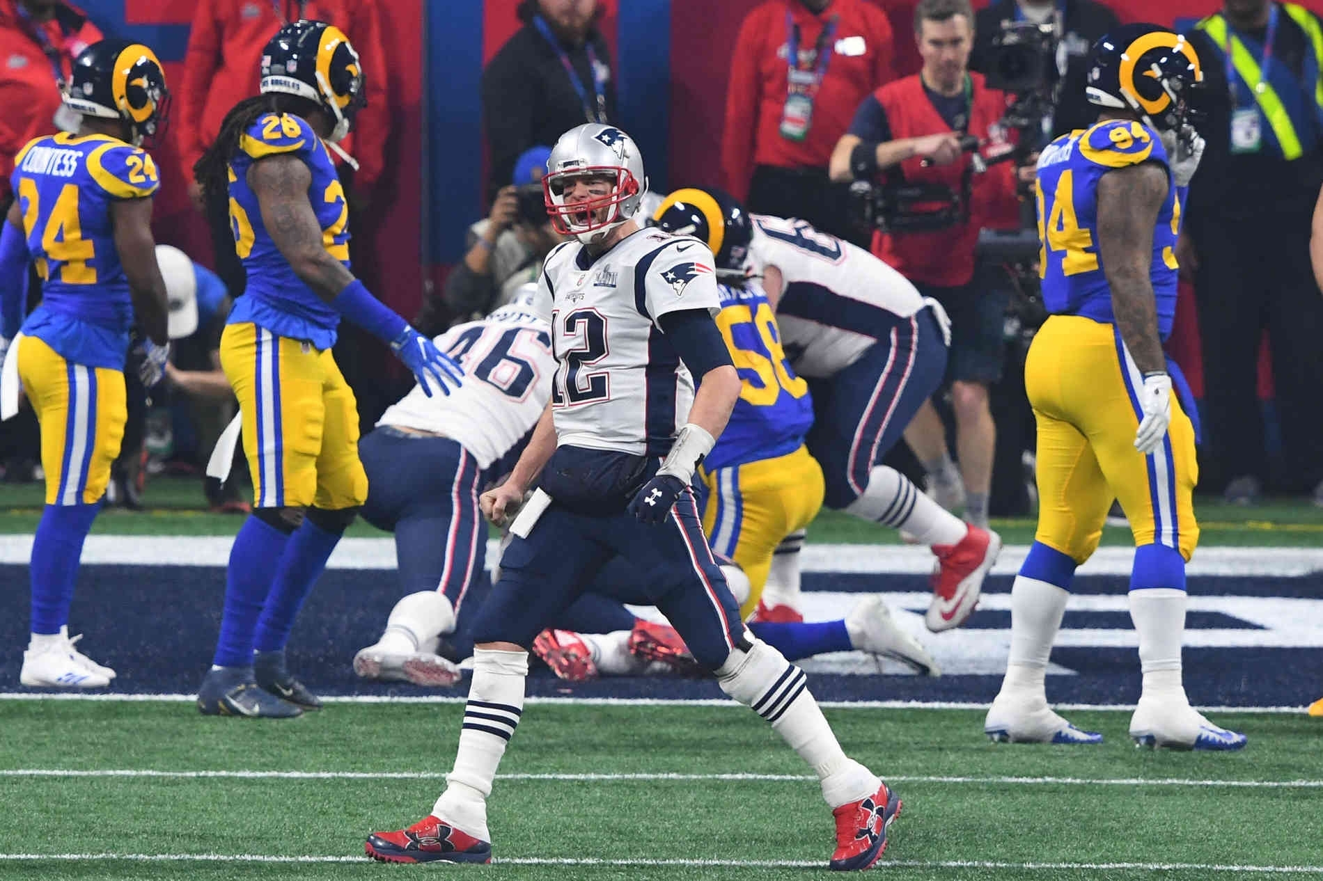 Super Bowl 2019 - Live-Blog: New England Patriots Schlagen pertaining to Super Bowl Liii Patriots Rams
