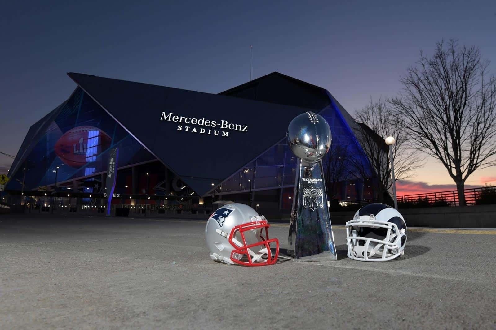 Super Bowl 2019: New England Patriots Vs. Los Angeles Rams in Rams Super Bowl 2019
