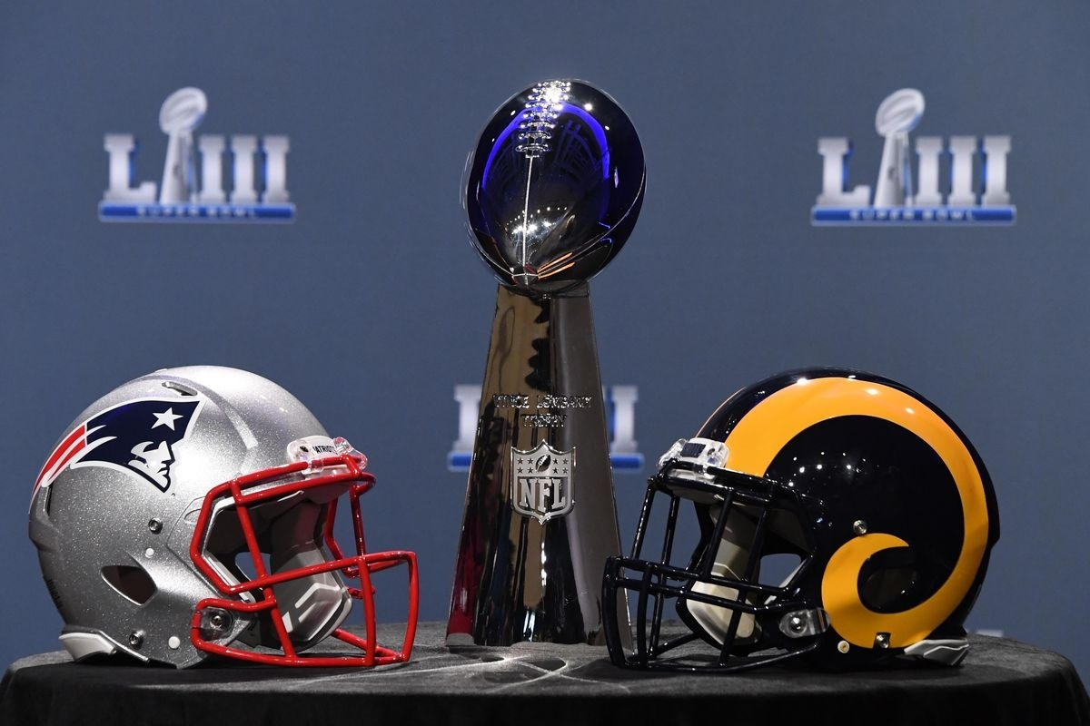 Super Bowl 2019: New England Patriots Vs. Los Angeles Rams in Super Bowl 2019 Patriots