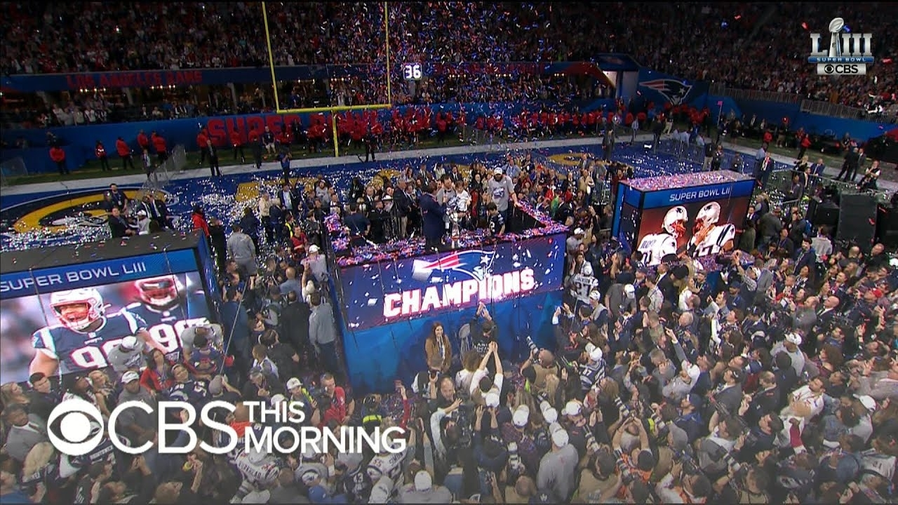 Super Bowl 2019: Patriots Beat Rams In Historic Win within Super Bowl 2019 Patriots