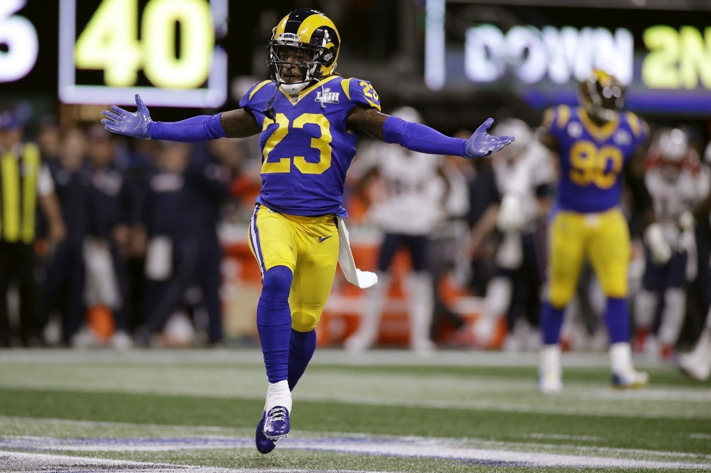 Super Bowl 2019: Rams' Nickell Robey-Coleman Backs Up with regard to Rams Super Bowl 2019