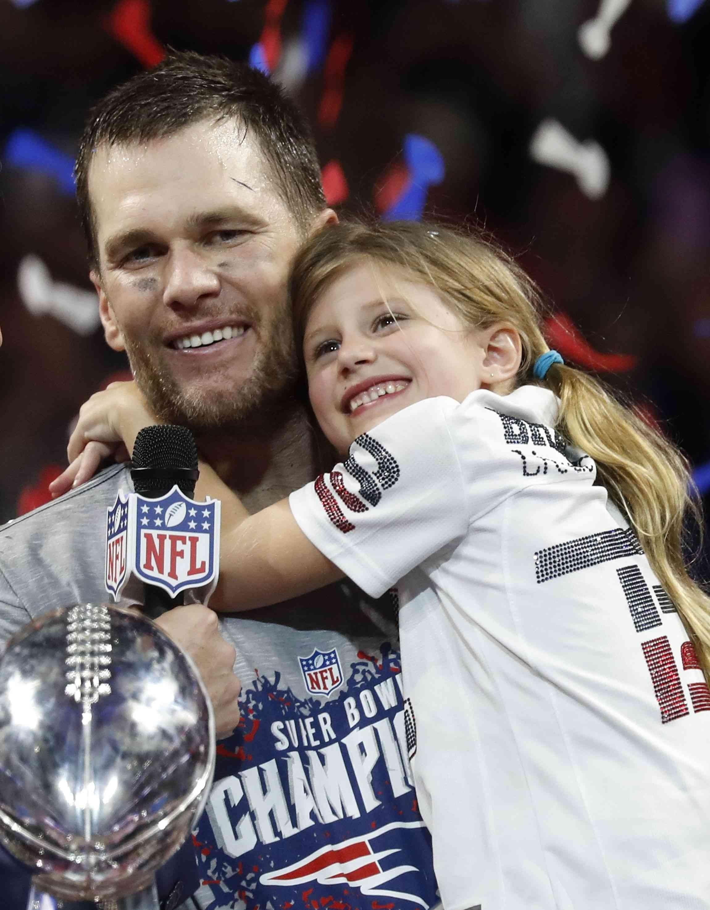 Super Bowl 2019: Tom Brady Feiert 6. Titel Mit Seiner with Tom Brady Super Bowl 2019
