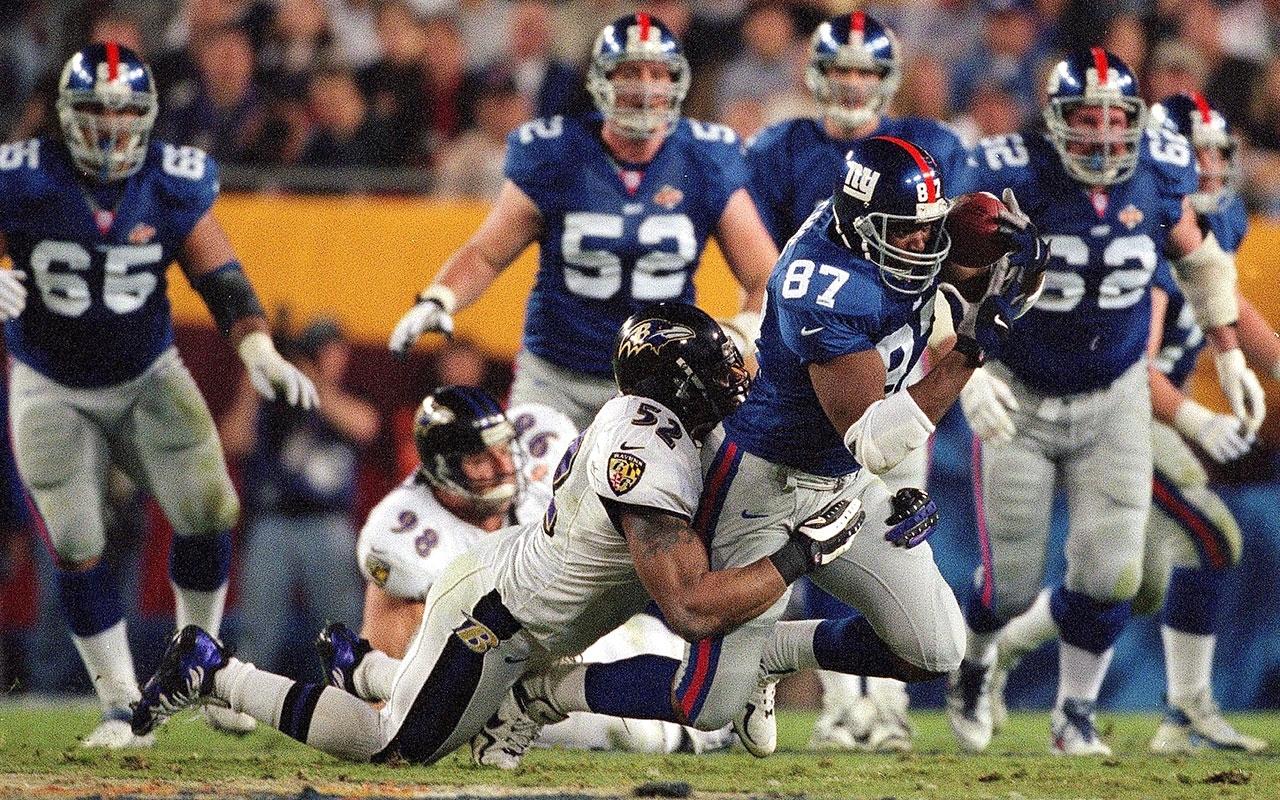 Super Bowl 35: Ravens' Top Defense Crushes Giants   Vault pertaining to Ravens Giants Super Bowl