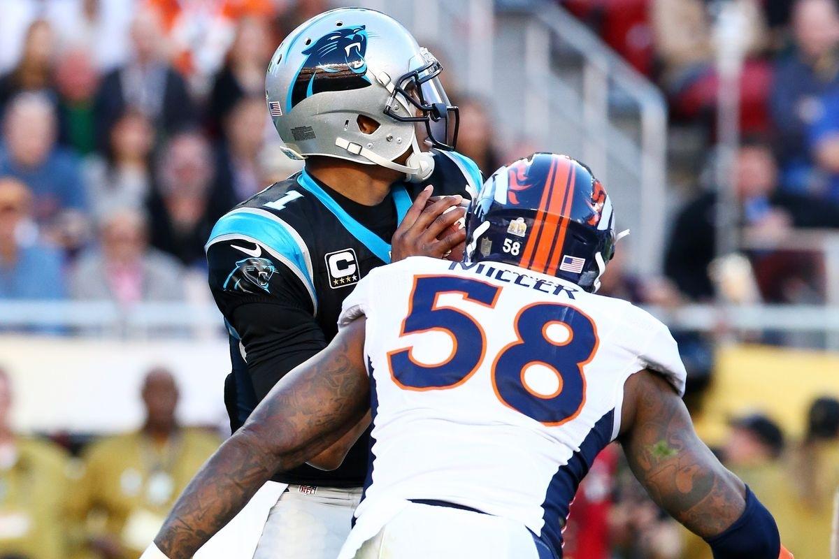 Super Bowl 50 Final Score: Broncos Beat Panthers 24-10; Von pertaining to Panthers Broncos Super Bowl