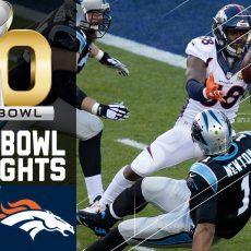 Super Bowl 50 Highlights | Panthers Vs. Broncos | Nfl within Broncos Panthers Super Bowl