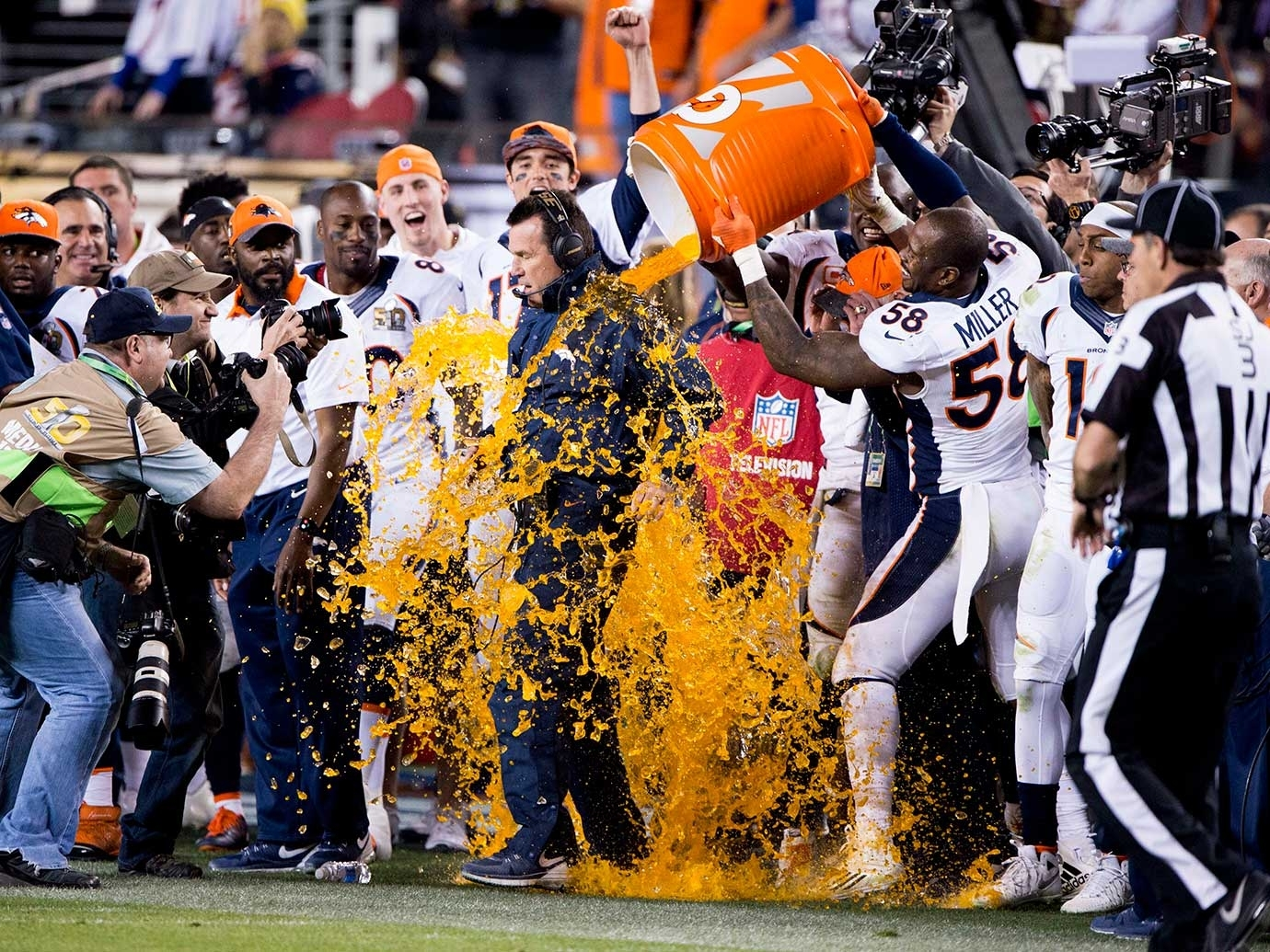 Super Bowl 50: Reviewing Cbs's Broadcast Of Broncos-Panthers intended for Broncos Super Bowl 50