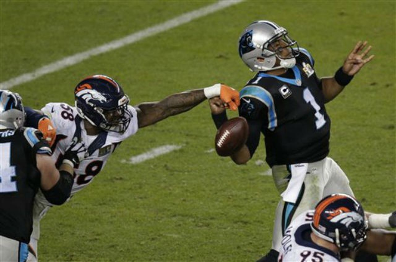Super Bowl 50: See The Cam Newton Fumble That Might Have in Cam Newton Super Bowl