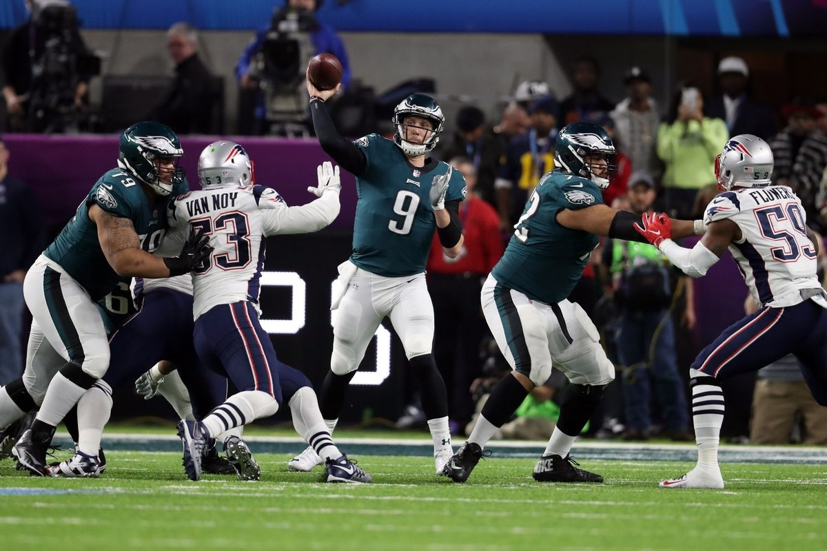 Super Bowl 52: Patriots, Eagles Easily Broke The Record For with Eagles Patriots Super Bowl
