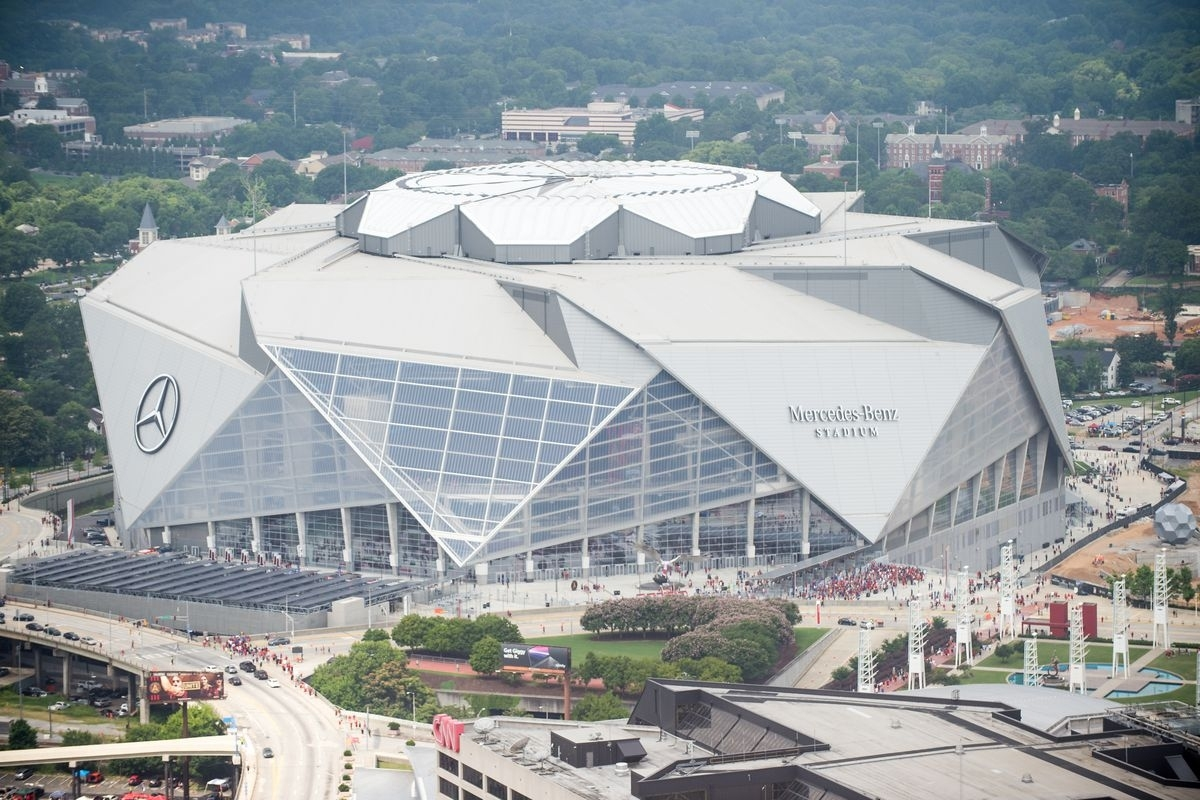 Super Bowl 53: Mercedes-Benz Stadium's 7 Wildest Features in Super Bowl 2019 Stadium Seating Capacity