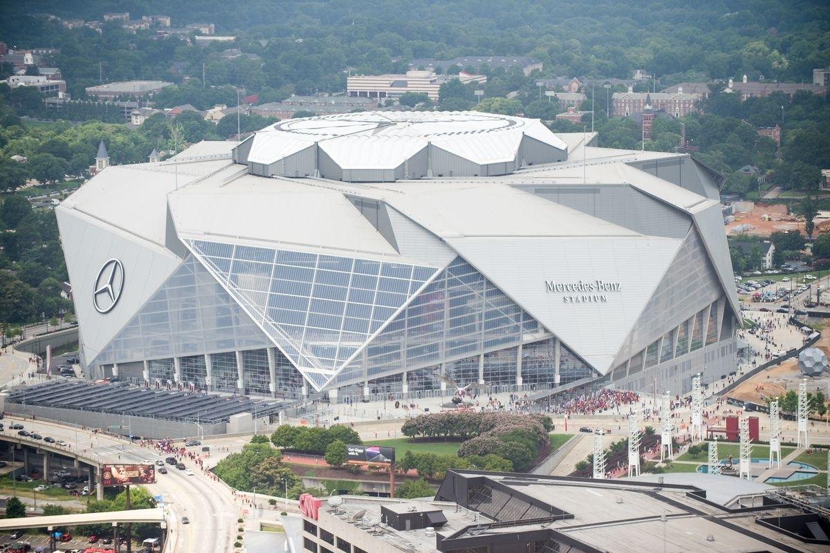 Super Bowl 53: Mercedes-Benz Stadium's 7 Wildest Features within Atlanta Super Bowl Stadium Address