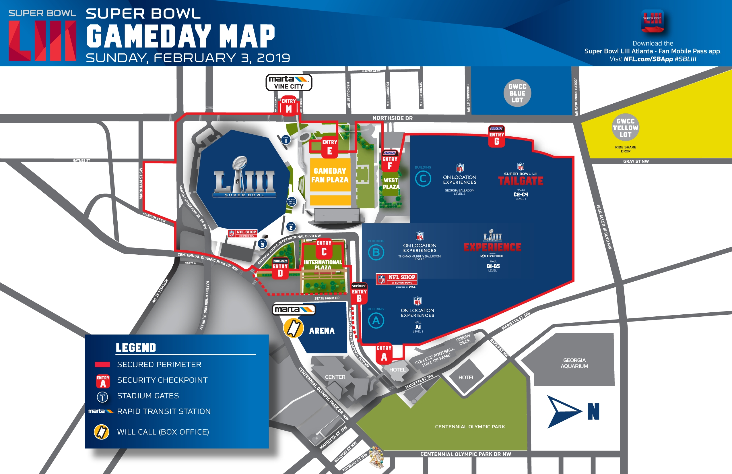 Super Bowl Game Details | Nfl | Nfl with Super Bowl Game Day Map