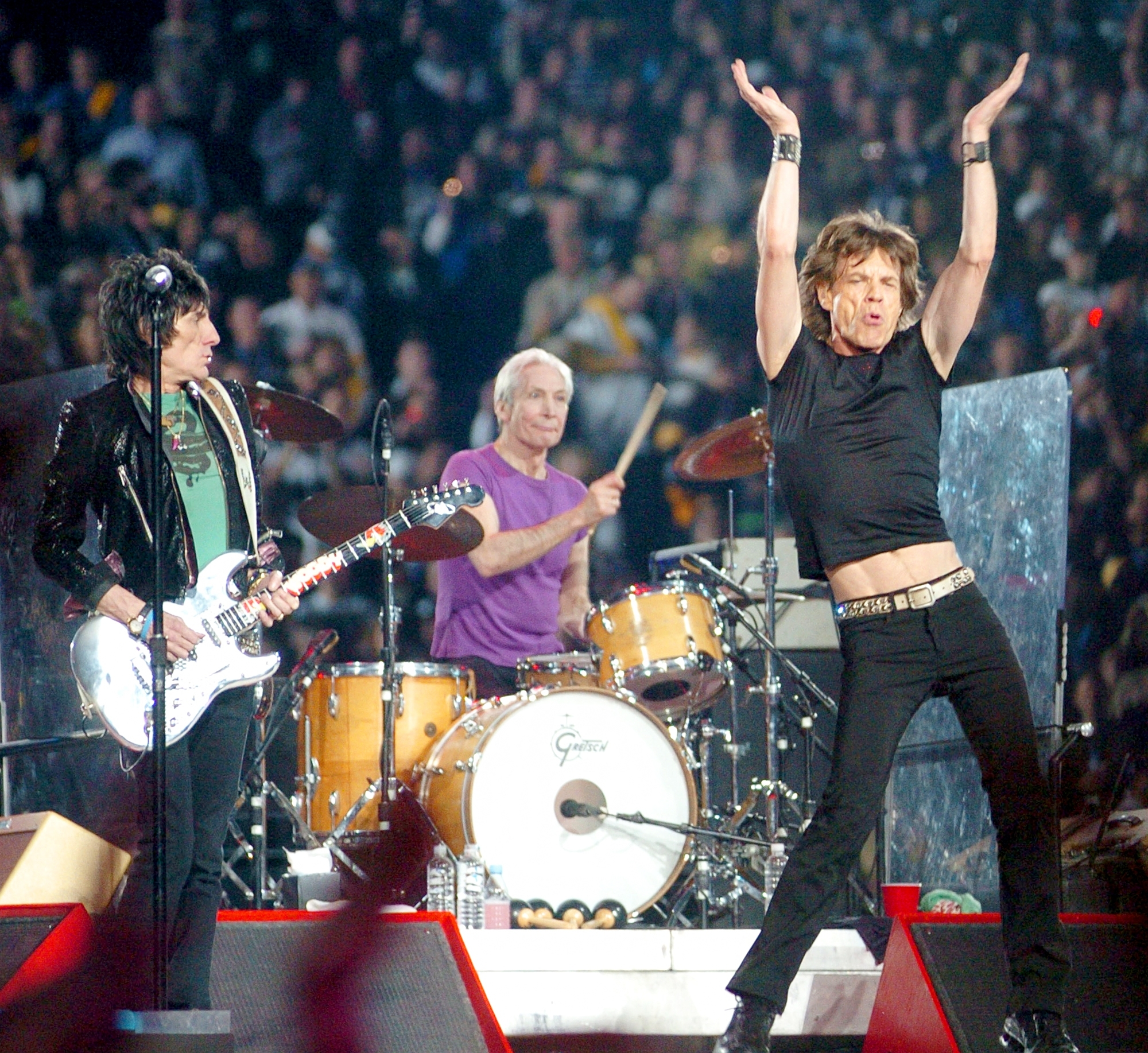 Super Bowl Halftime Performers Through The Years: Beyonce with regard to Rolling Stones Super Bowl