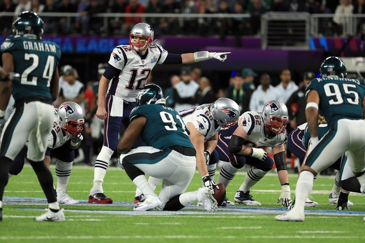 Super Bowl Halftime Report: Patriots Down 22-12 Against intended for Eagles Patriots Super Bowl