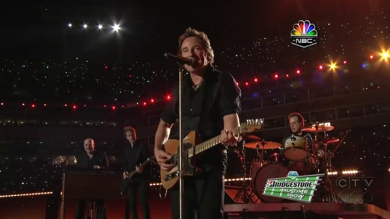 Super Bowl Halftime Show 2009 intended for Bruce Springsteen Super Bowl