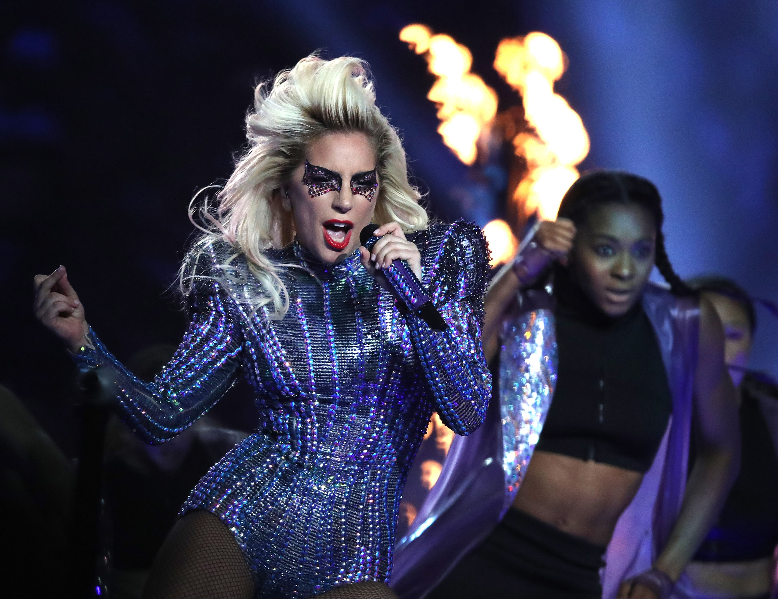 Super Bowl Halftime Show: Lady Gaga Show Review | Time pertaining to Lady Gaga Super Bowl 2018