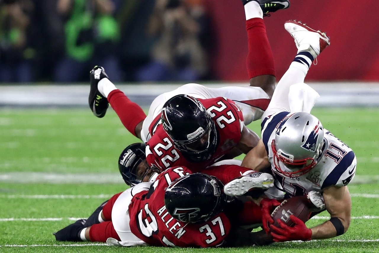 Super Bowl Li: Falcons Vs. Patriots throughout Falcons Patriots Super Bowl
