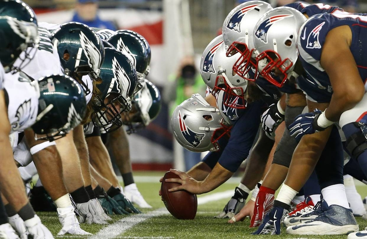 Super Bowl Lii: It's The G.o.a.t. Vs. The Underdogs - Wsj intended for Patriots First Super Bowl