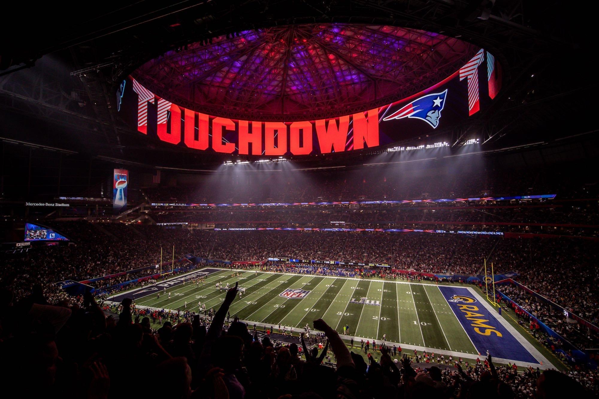 Super Bowl Liii - Mercedes Benz Stadium with regard to Super Bowl Liii Seating Chart