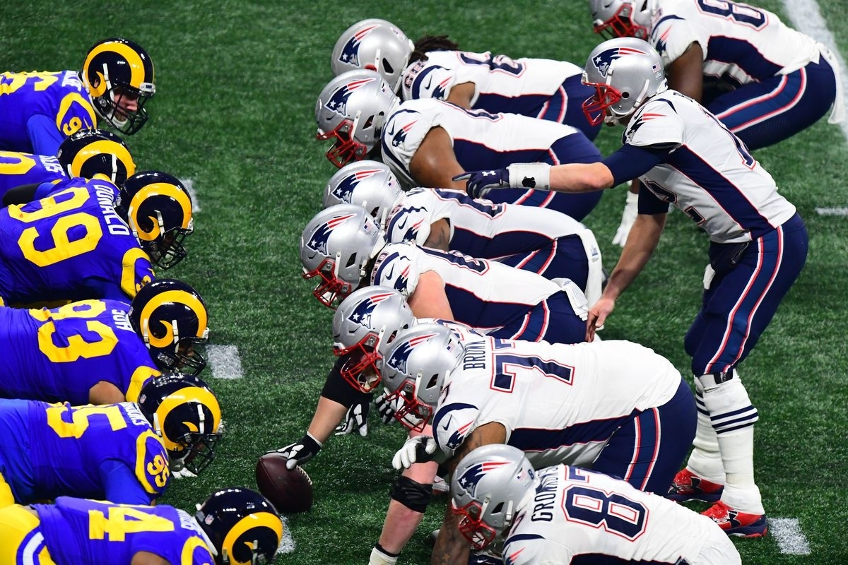 Super Bowl Liii: New England Patriots 13, Los Angeles Rams 3 throughout Super Bowl Liii Patriots Rams