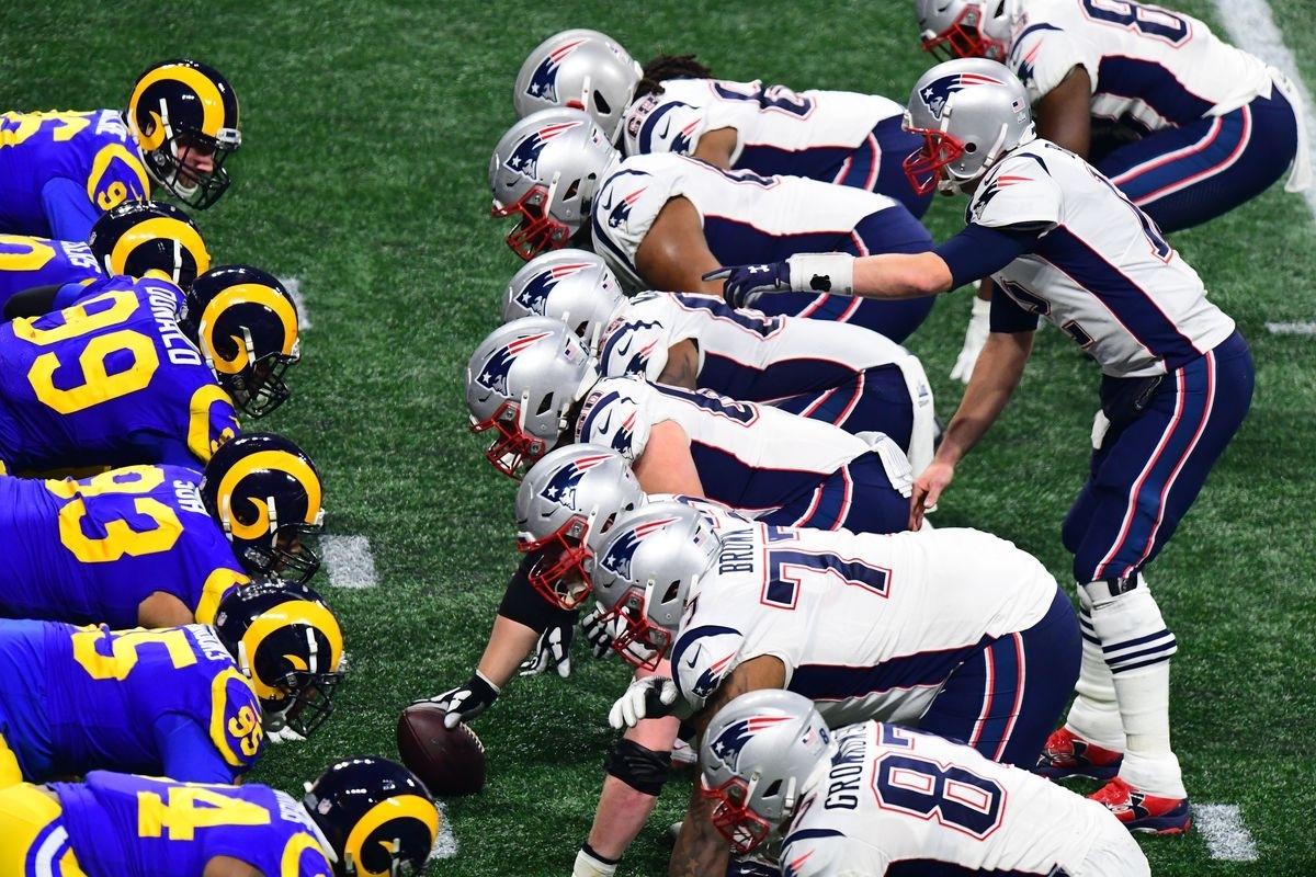 Super Bowl Liii: New England Patriots 13, Los Angeles Rams 3 throughout Super Bowl Liii Patriots Rams