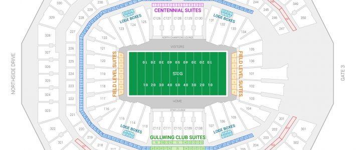 Super Bowl Liii Suite Rentals | Mercedes-Benz Stadium inside Super Bowl Liii Seating Chart