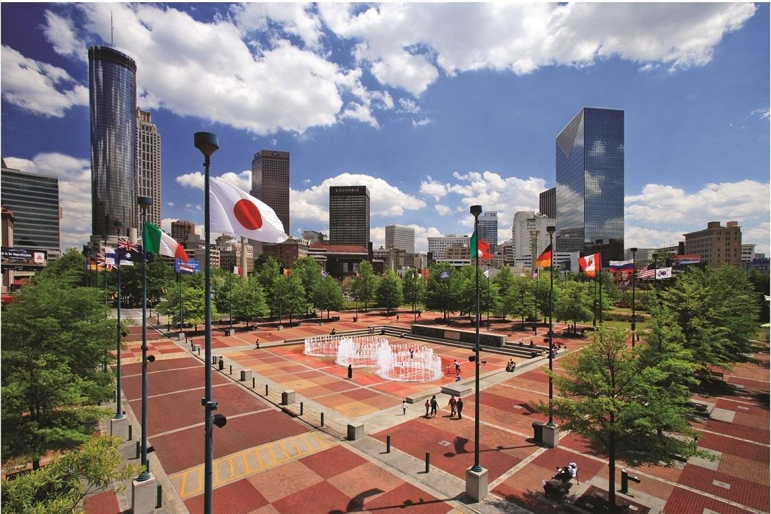 Super Bowl Live Presentedverizon| Downtown Atlanta, Ga throughout Super Bowl Live Atlanta Map