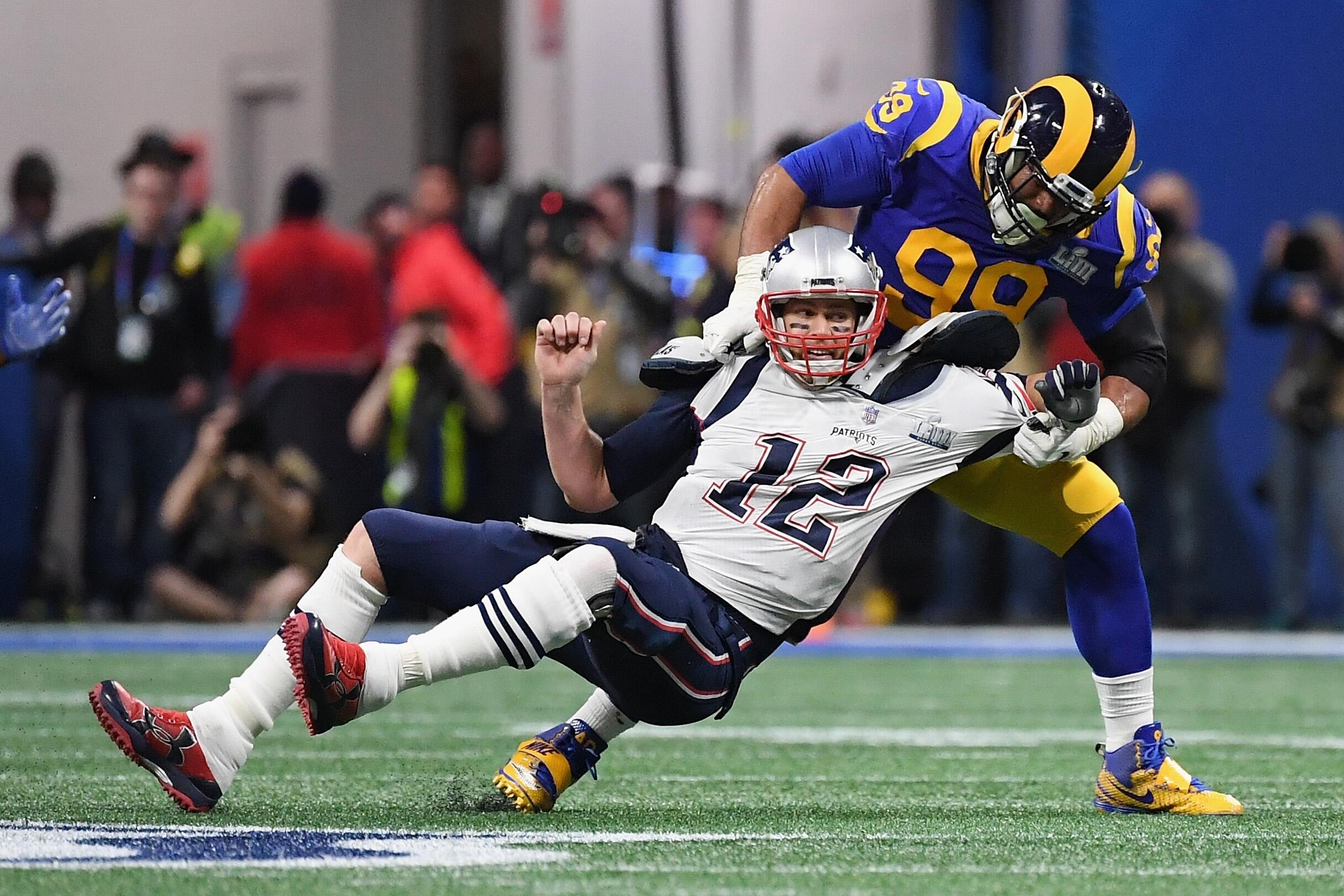 Super Bowl Live-Ticker: New England Patriots - Los Angeles inside Super Bowl Liii Patriots Rams