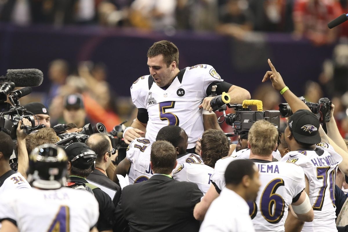 Super Bowl Mvp Joe Flacco Thanks No One, Because He Is Joe pertaining to Joe Flacco Super Bowl