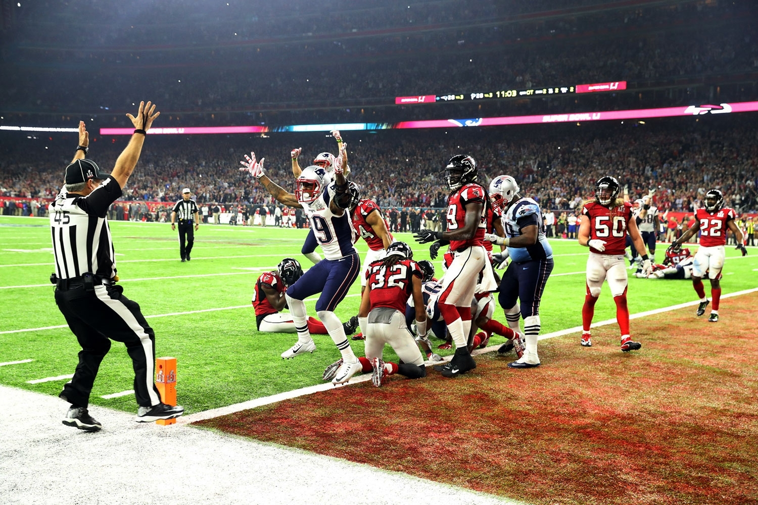 Super Bowl Recap: How Patriots Came Back To Stun Falcons for Falcons Patriots Super Bowl