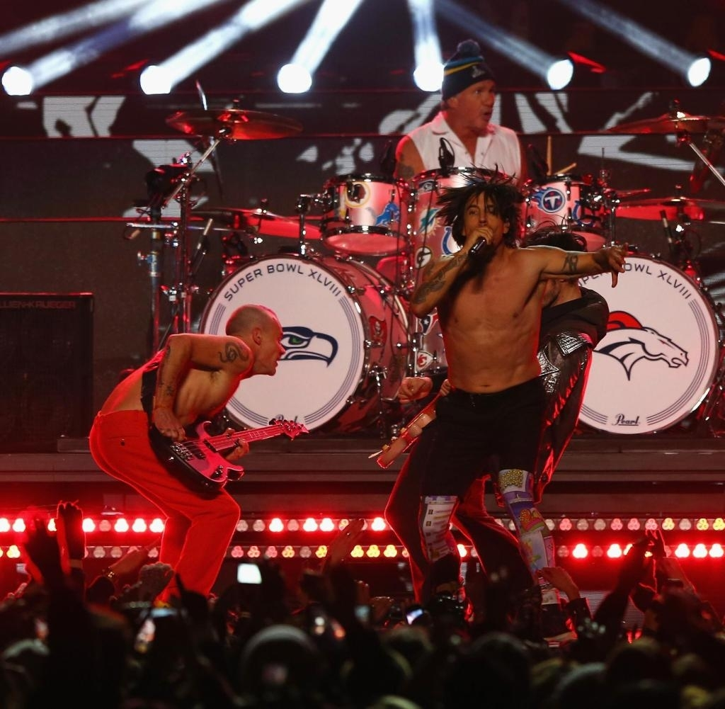 Super Bowl: Red Hot Chili Peppers Gestehen Halb-Playback - Welt throughout Red Hot Chili Peppers Super Bowl