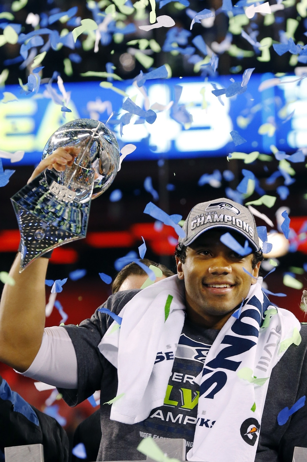 Super Bowl: Seahawks' Russell Wilson To Visit David in Russell Wilson Super Bowl
