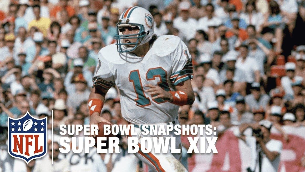 Super Bowl Snapshots: Dan Marino's Dream Comes True In Super Bowl Xix   Nfl with regard to Dan Marino Super Bowl