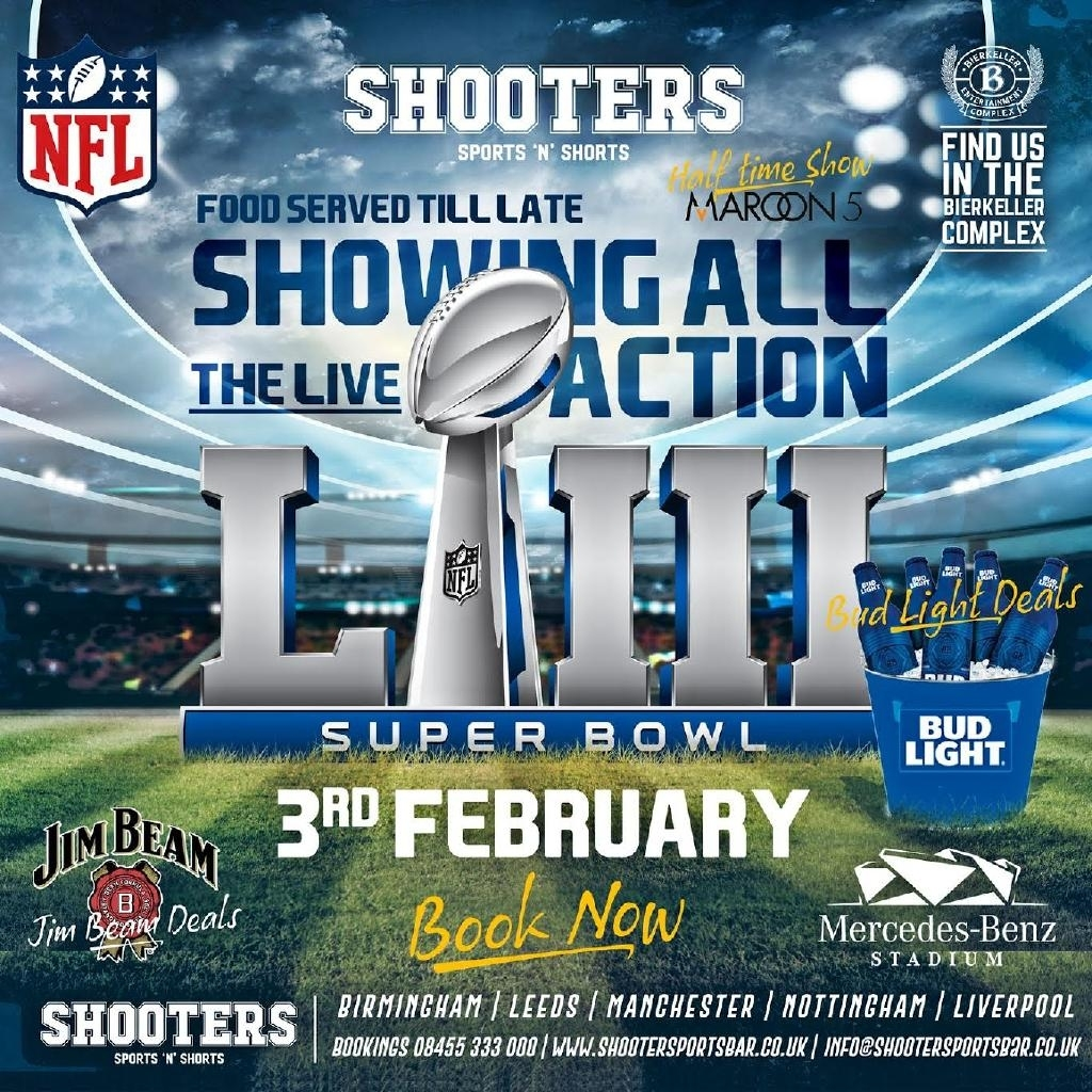 Super Bowl Tickets | Bier Keller Liverpool | Sun 3Rd February for Cheapest Super Bowl Tickets 2019