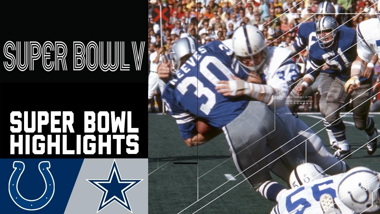 Super Bowl V Recap: Colts Vs. Cowboys | Nfl throughout Cowboys Last Super Bowl