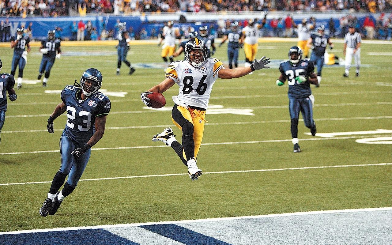 Super Bowl Xl: Hines Ward, Steelers Take Down Seahawks   Vault inside Steelers Seahawks Super Bowl