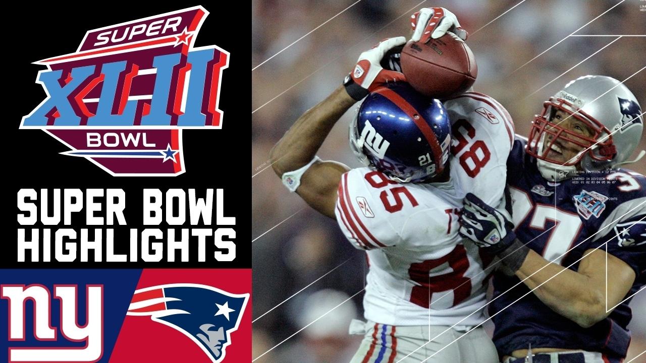 Super Bowl Xlii: Giants Vs. Patriots (#2) | Top 10 Upsets | Nfl with regard to Giants Patriots Super Bowl