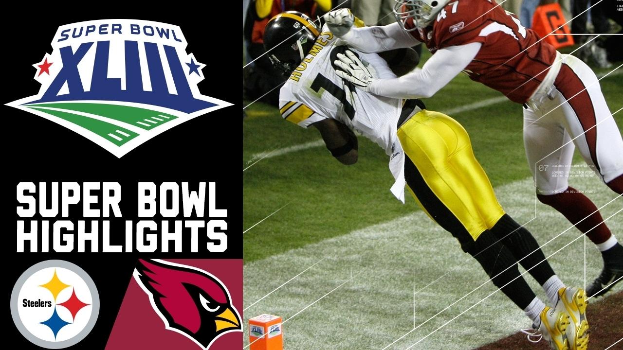 Super Bowl Xliii Recap: Steelers Vs. Cardinals | Nfl within Steelers Cardinals Super Bowl