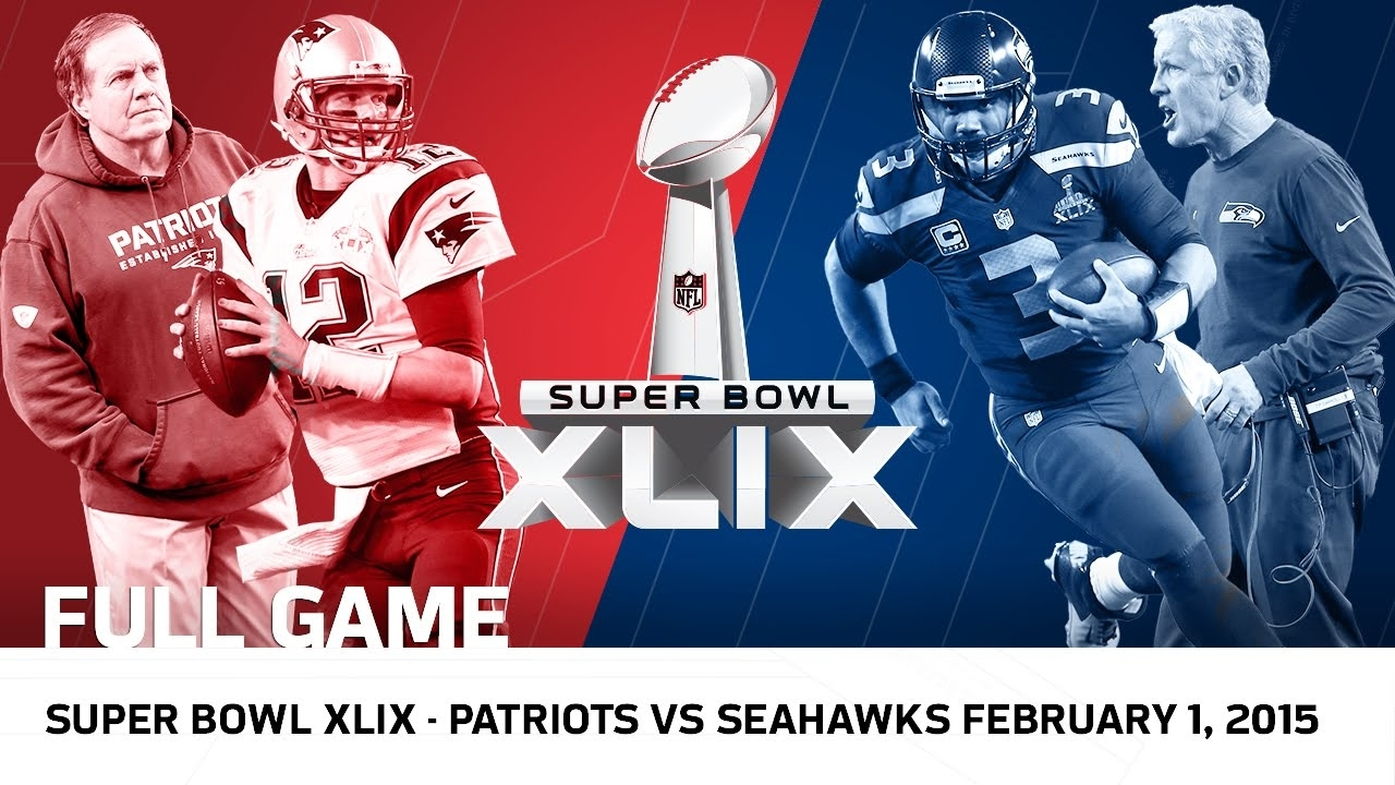 Super Bowl Xlix: Tom Brady Vs. Russell Wilson | Patriots Vs. Seahawks | Nfl  Full Game throughout Russell Wilson Super Bowl