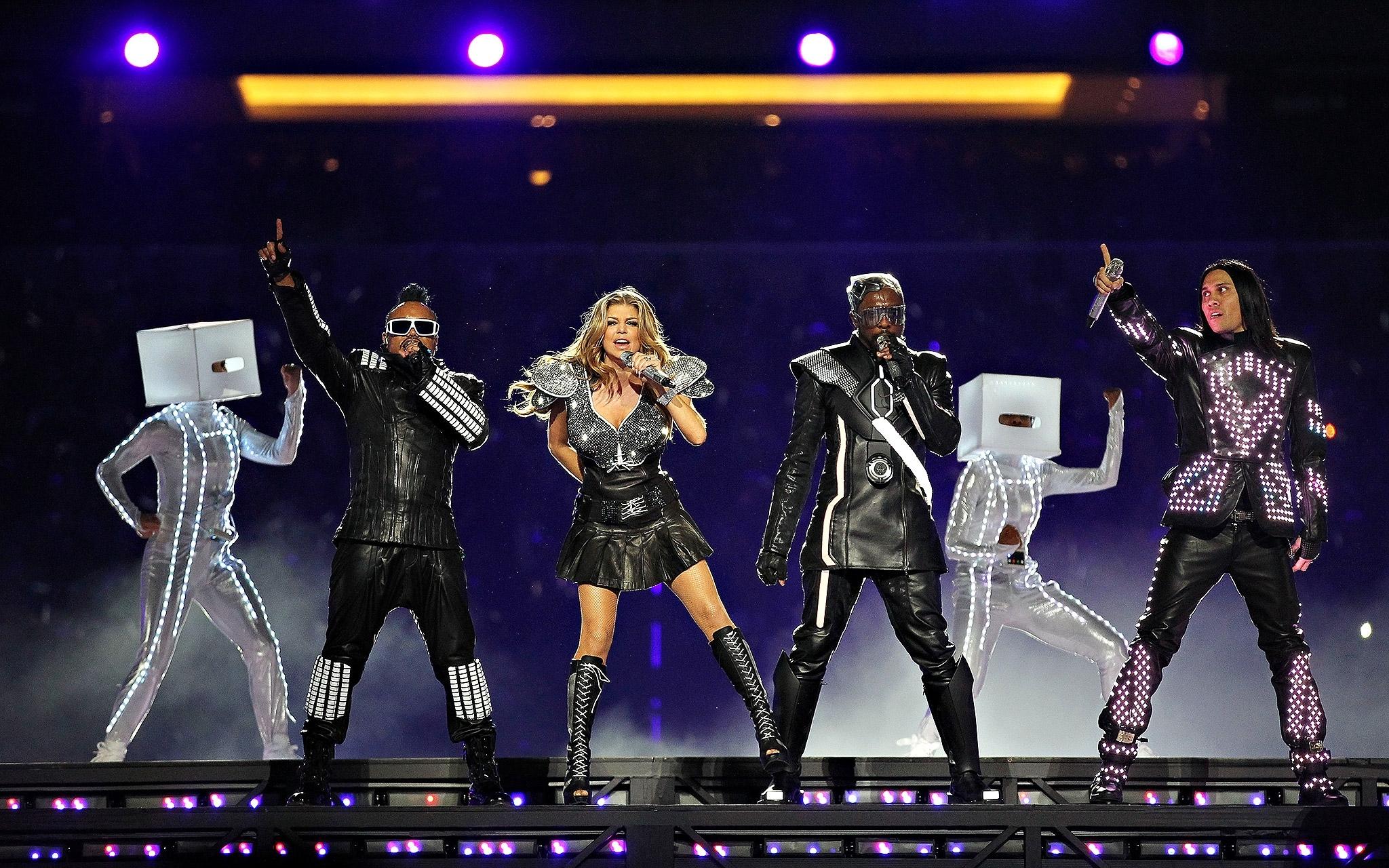 Super Bowl Xlv: The Black Eyed Peas - Super Bowl Halftime for Black Eyed Peas Super Bowl