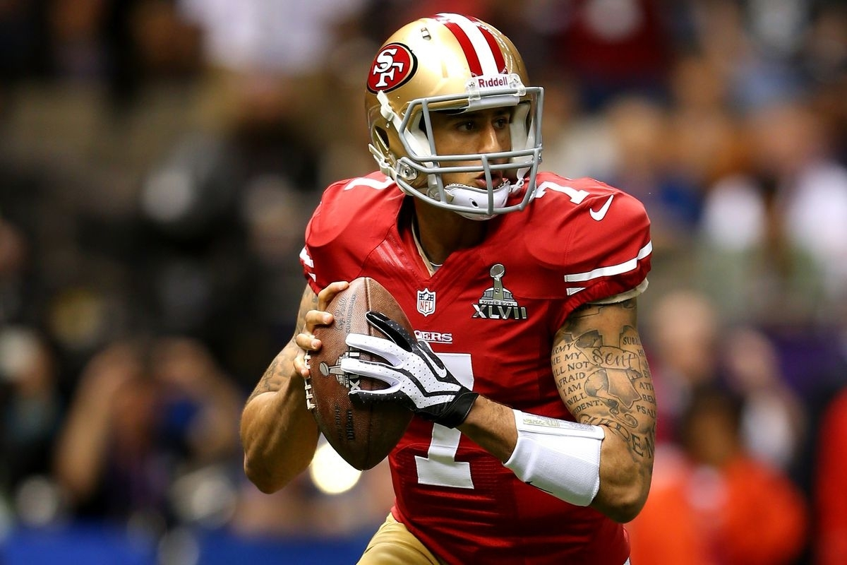 Super Bowl Xlvii: Colin Kaepernick Shines In Losing Effort regarding Colin Kaepernick Super Bowl
