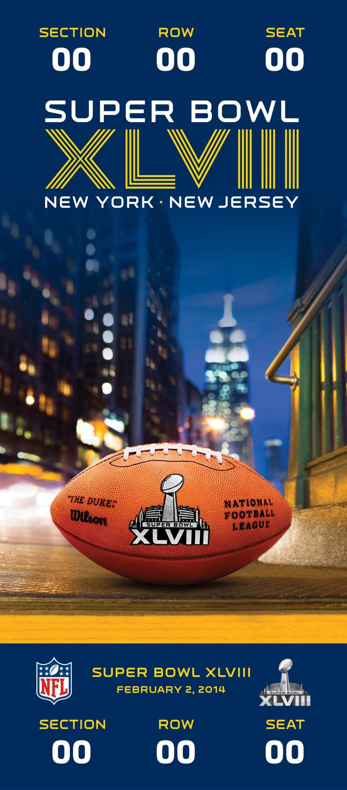 Super Bowl Xlviii: Seahawks 43, Broncos 8 - Photos - Tickets inside Nfl Super Bowl Tickets