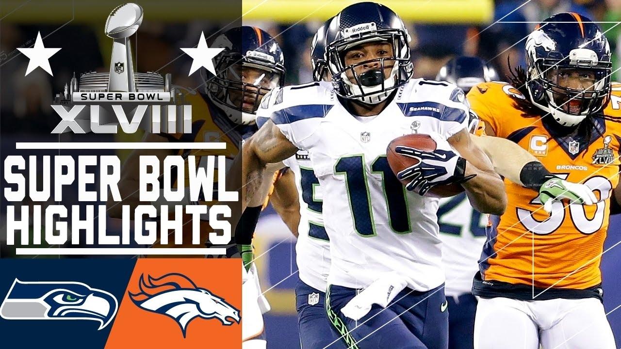 Super Bowl Xlviii: Seahawks Vs. Broncos Highlights throughout Seahawks Super Bowl 2014